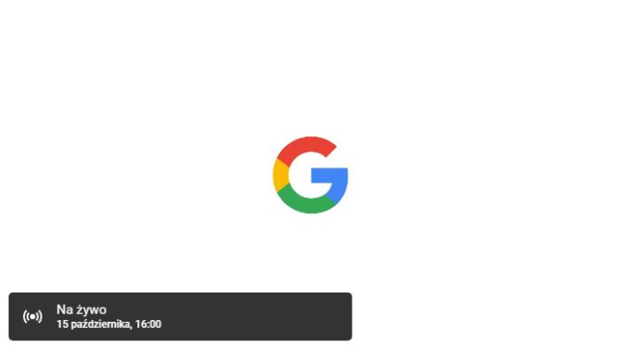 Konferencja made by Google 2019 na żywo Pixel 4 oraz Google Watch